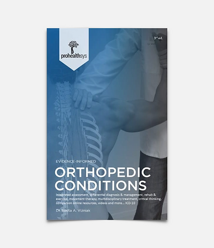 Orthopedic Conditions Textbook
