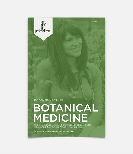 Botanical Medicine Textbook