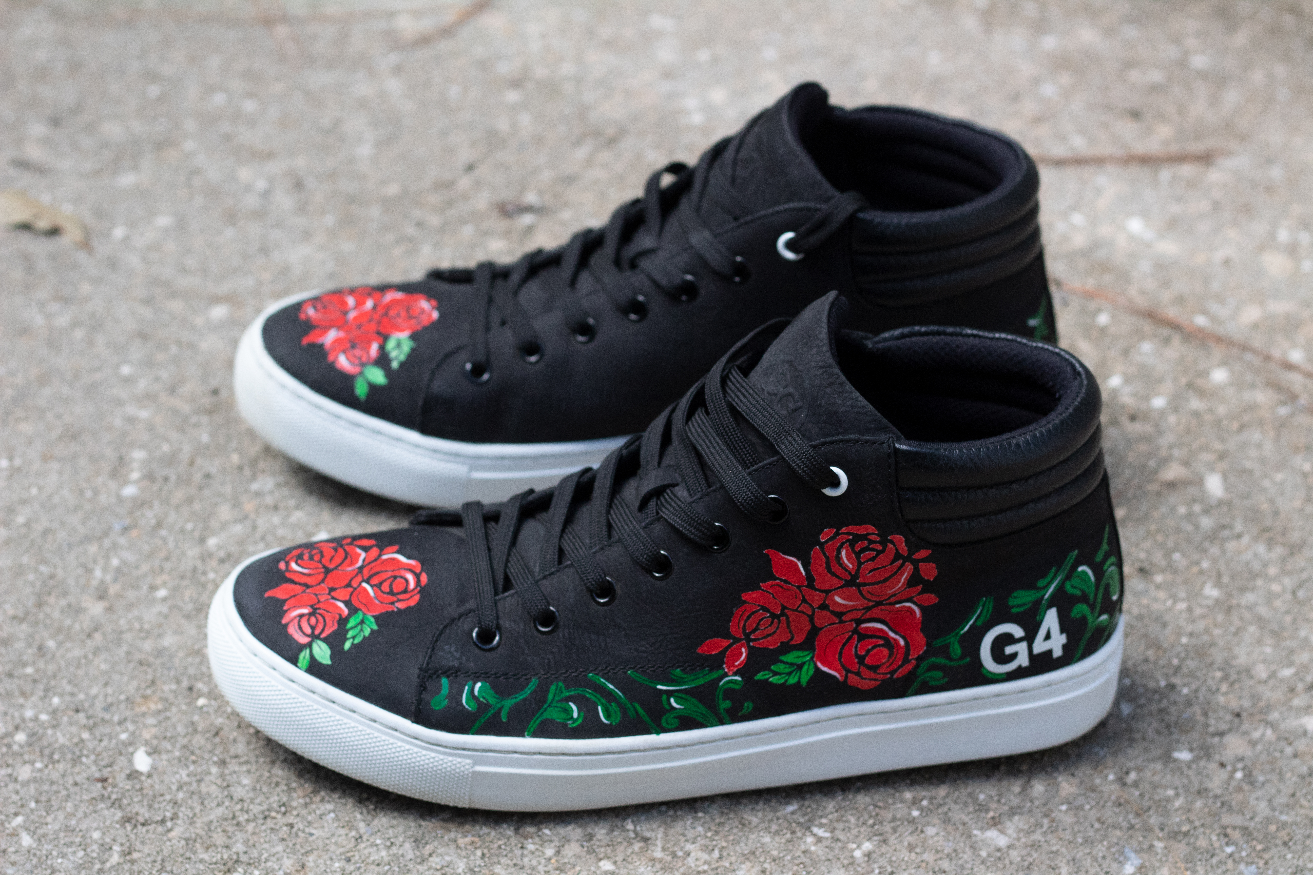 "G4 Golf Cleats ""Floral"""