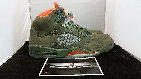 """Air Jordan """"Olive"""" V"""