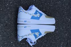 Blue Safari AF1's!