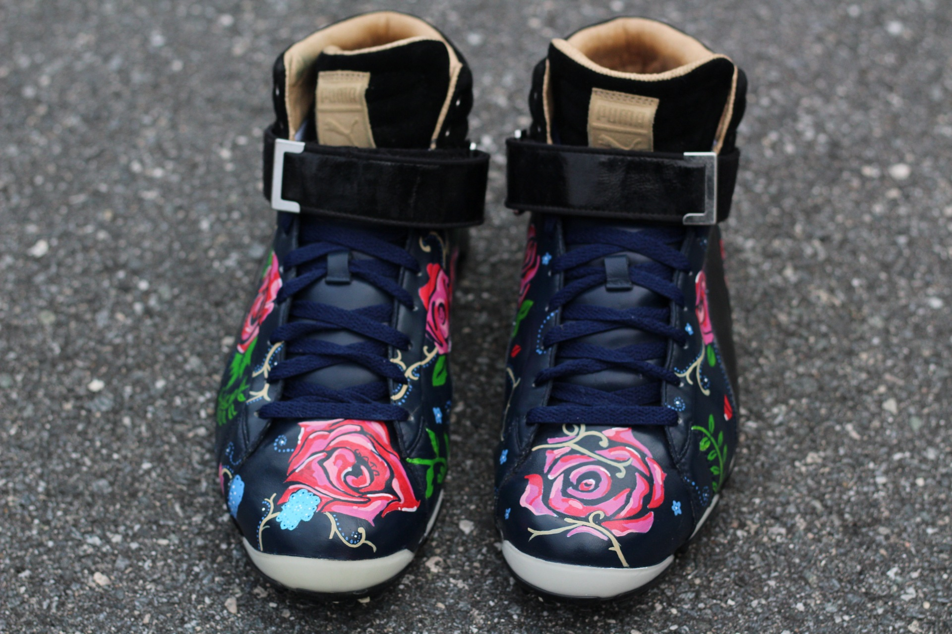 Floral Golf Cleats!
