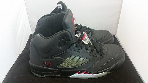 """Air Jordan 5 """"Raging Bull Black 3M"""""""