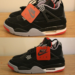 Bred IV Sole Swap!
