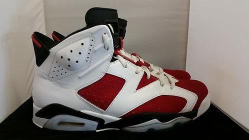 """Air Jordan """"Carmine"""" VI"""