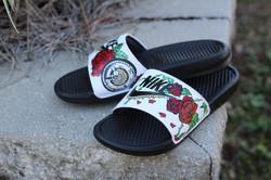 Nike Floral Slides
