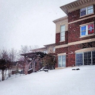 Snow Day at Sigma Nu