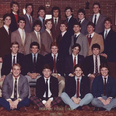 1982-83' Pledge Class