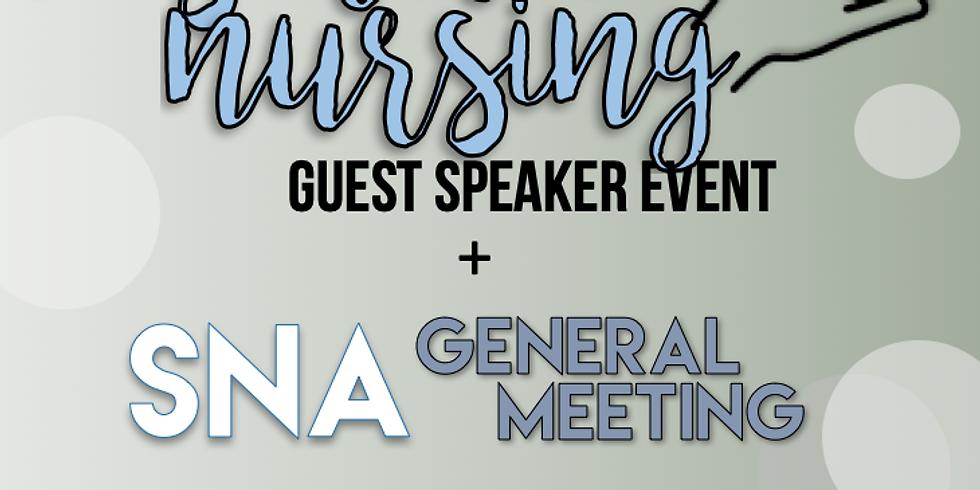 Cosmetic Nurse Speaker Event + SNA General Meeting
