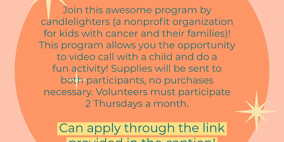 Video Call Volunteers for Candlelighters of Nevada