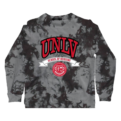 UNLV Tie-Dye Crewneck Sweatshirt