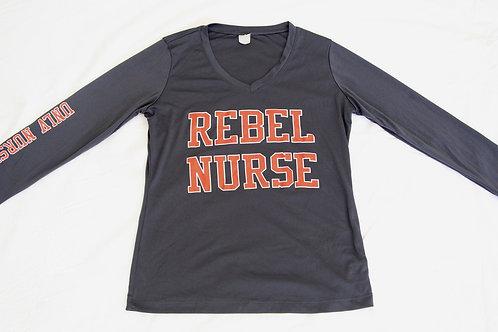 Women's Rebel Nurse Dri-Fit V-Neck