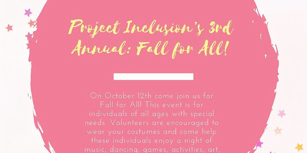 Fall for All with Project Inclusion