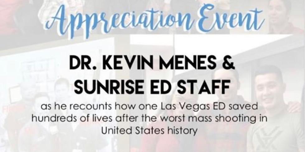 Dr. Kevin Menes Encore Speaker Event