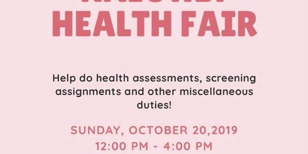 NALC HBP Health Fair