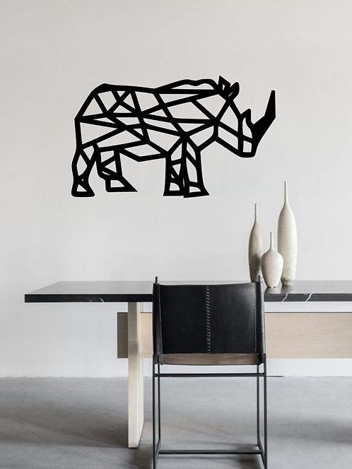 Rinoceronte Geométrico