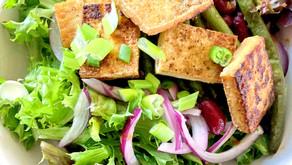 Meals We Love: Crispy Tofu and Spicy Green Bean Salad