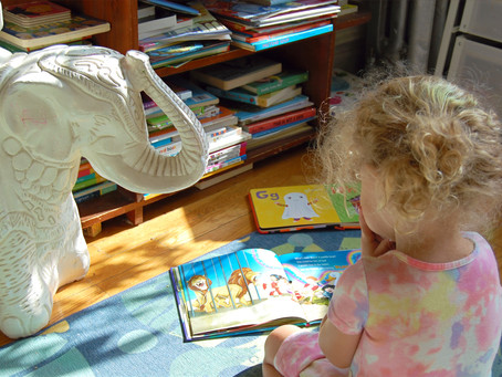 9 Tips on Raising a Little Bookworm