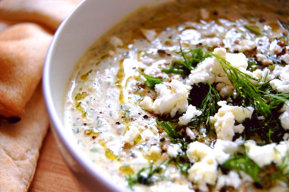 Lunita Podcast Delicious Easy Cheap Pistachio Feta Dip Recipe