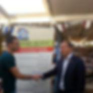 תמונה עם ראש העיר ירושלים מר ניר ברקת