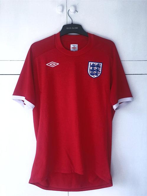 2010-11 England Away Shirt (Excellent) L