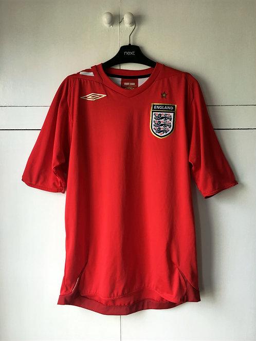 2006-08 England Away Shirt (Excellent) M