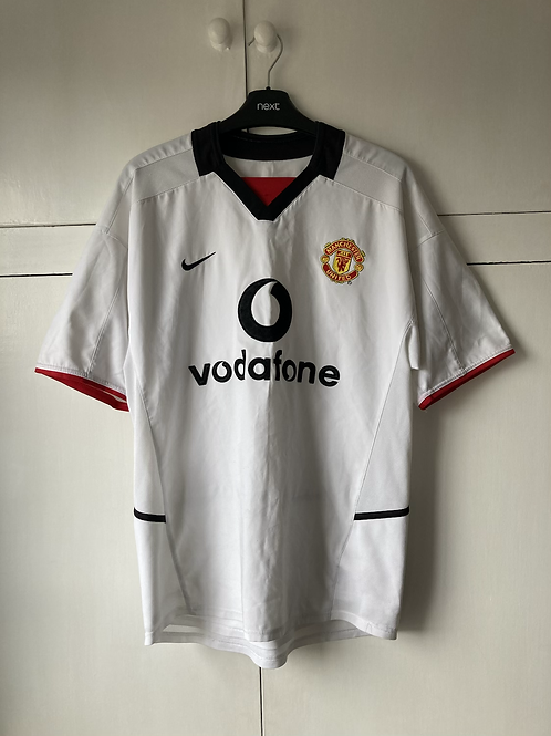 2002-03 MANCHESTER UNITED AWAY SHIRT (EXCELLENT) S