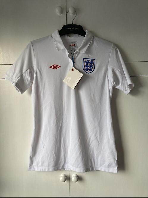 2010-11 England Home Shirt *BNWT* Ladies Size 10