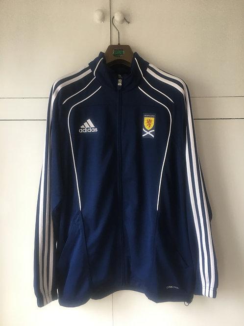 2011-12 Scotland Adidas Track Jacket (Excellent) L