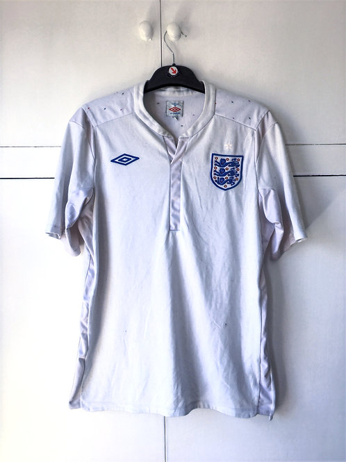 2010-12 England Home Shirt (Very Good) L