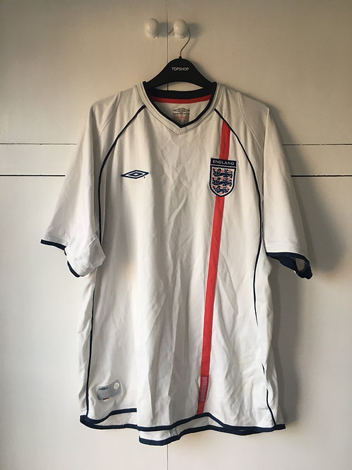 2001-03 England Home Shirt (Very Good) XXL