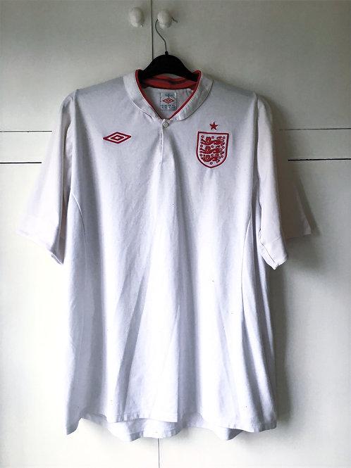 2012-13 England Home Shirt (Very Good) XXXL