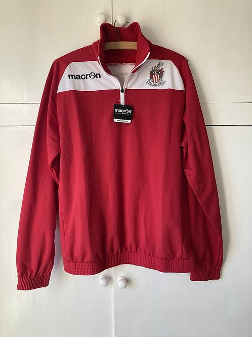 2019-20 Stevenage Borough Juniors Zip Top Jacket *W/Tags* (Excellent) M