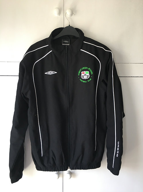2007-08 Forest Green Rovers Umbro Training Jacket (Excellent) XLB/S