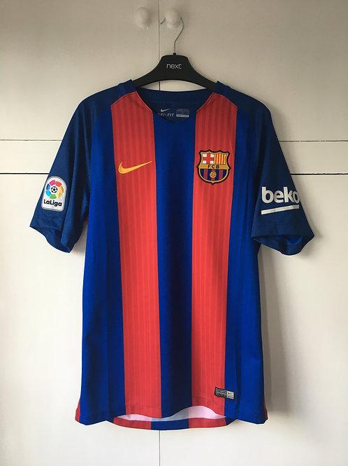 2016-17 Barcelona Home Shirt (Excellent) S