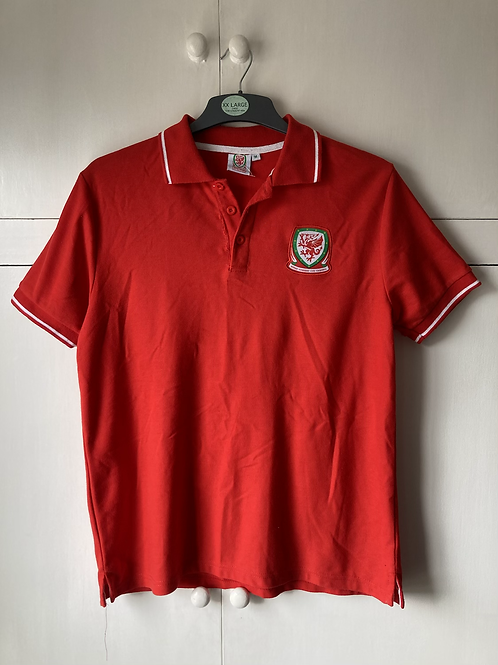 2016-17 Wales Supporters Polo T-Shirt (Good) M