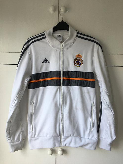 2012-13 Real Madrid Adidas Anthem Track Jacket (Excellent) S