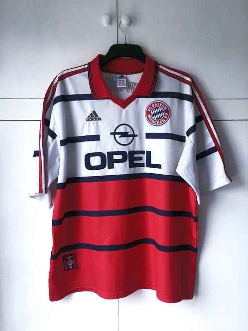1999-00 Bayern Munich Home Shirt Scholl #7 (Very Good) XL