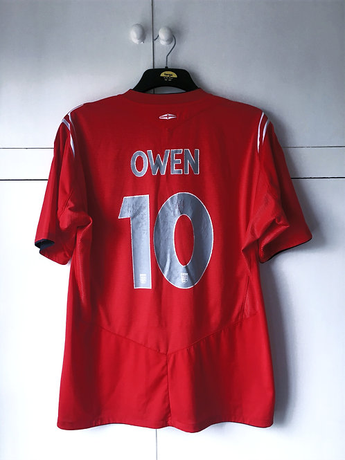 2004-06 England Away Shirt Owen #10 (Good) XL