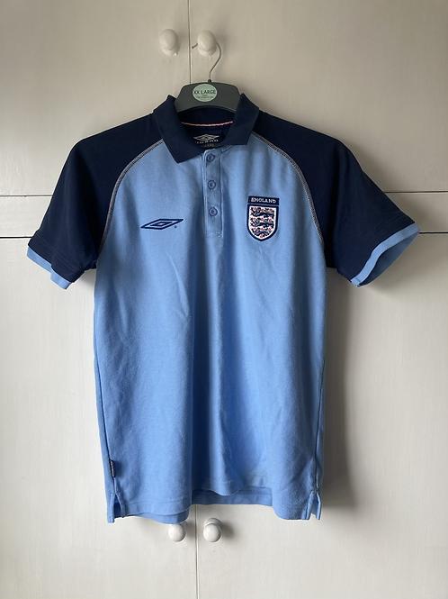 2001-03 England Polo T-Shirt (Very Good) S