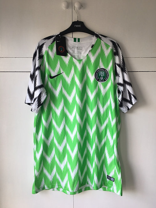 2018-19 Nigeria Home Shirt (Excellent) XL *REPRODUCTION*