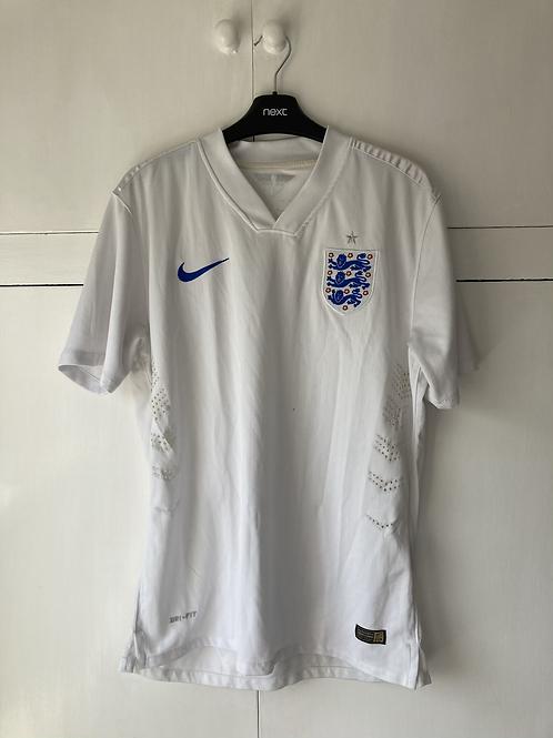 2014-15 England Home Shirt (Very Good) M