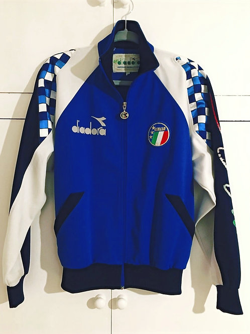 1990-92 Italy Diadora Track Jacket (Very Good) M