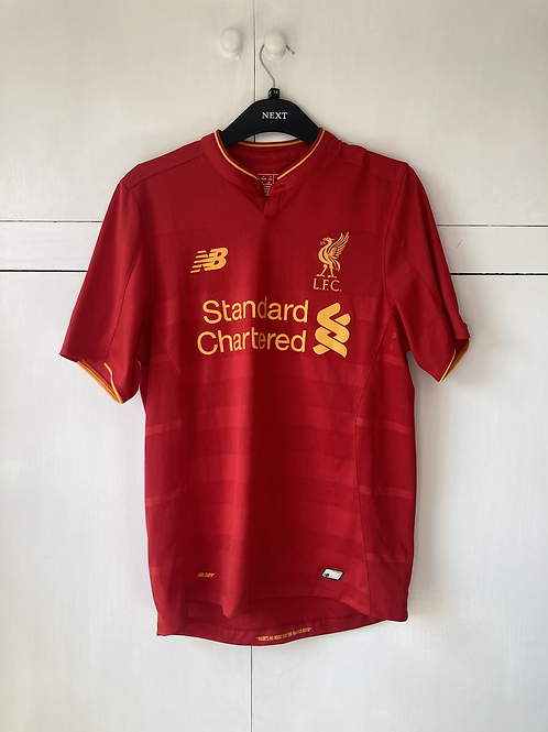2016-17 Liverpool Home Shirt (Excellent) S