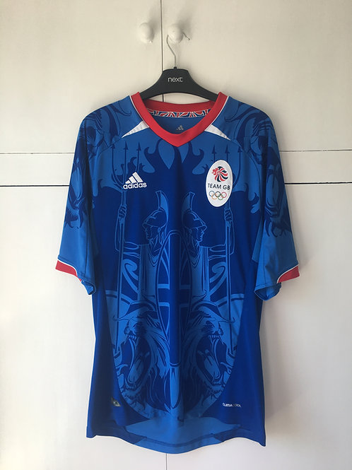 2011 TEAM GB OLYMPIC HOME SHIRT (EXCELLENT) M