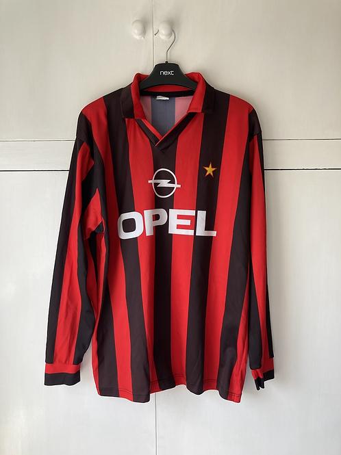 1994-95 AC Milan Home Replica L/S Shirt (Excellent) XL