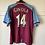 Thumbnail: 2000-01 Aston Villa Home Shirt Ginola #14 (Good) M