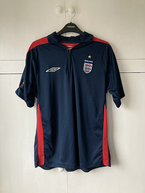 2008-09 England Umbro Training Shirt (Excellent) M