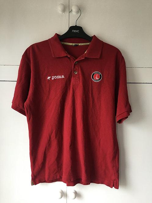 2006-07 Charlton Athletic PoloTraining T-Shirt (Very Good) S