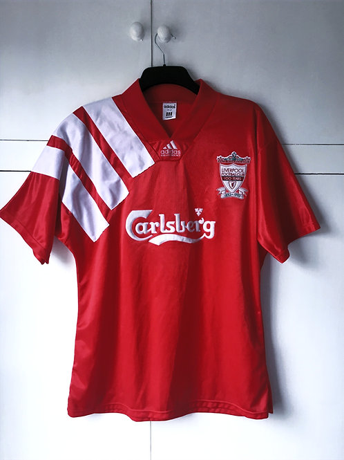1992-93 Liverpool Centenary Home Shirt (Excellent) L
